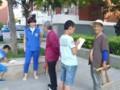 健康宣教志愿服务队健康宣传进社区