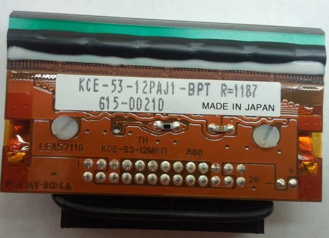 KCE-128-12PAJ1-TEN条形码打印机打印头